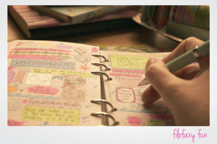 Why I love my filofax (and other organizing tools!) - The Memory Box Project