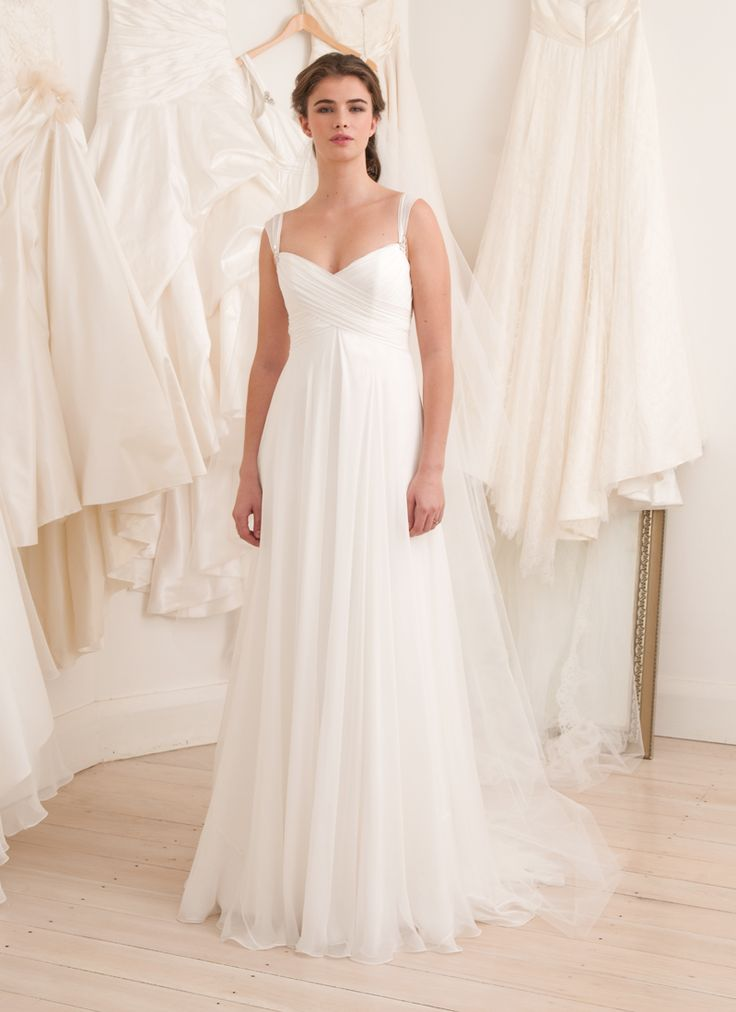 Spectacular Ethereal Wedding Dress French Bridal Collection