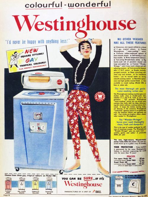 Colourful, wonderful Westinghouse, 1958