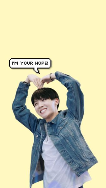 He really is. Always making me smile no matter how depressed or sad I am... I love you Hoseok #JHopeYourePerfect❤