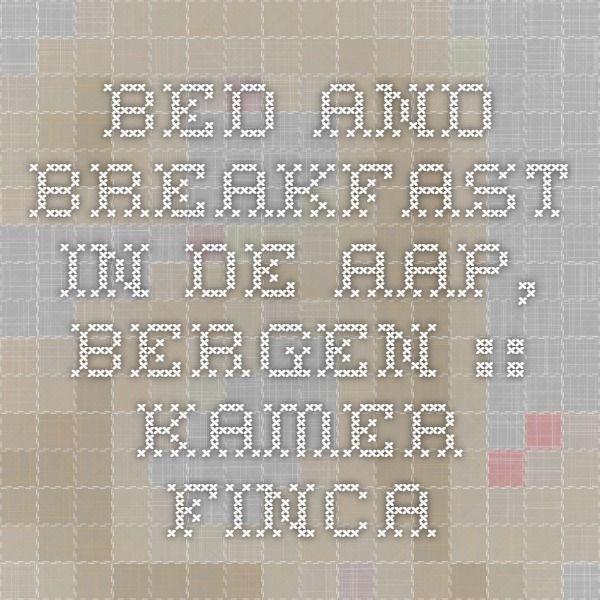 Bed and Breakfast in de aap, Bergen :: kamer Finca