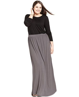 65 best maxi skirt plus size images on Pinterest