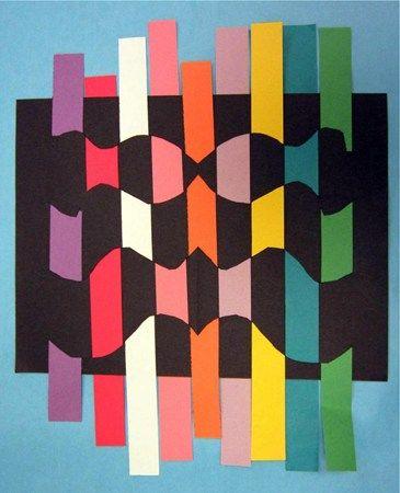 Op Art Weaving