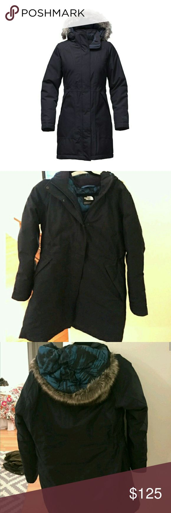 Selling this North Face Arctic Parka Down Coat XL Urban Navy on Poshmark! My username is: thehippodrome2. #shopmycloset #poshmark #fashion #shopping #style #forsale #North Face #Jackets & Blazers