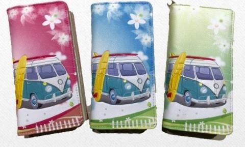 Kombi Camper Wallet - Luggage with Looks