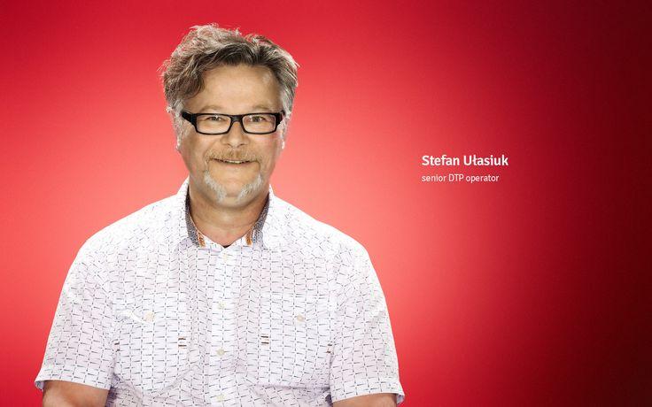 Stefan Ułasiuk senior DTP operator