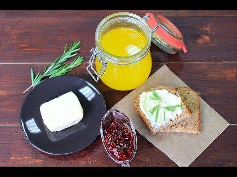 ТОПЛЁНОЕ ОЧИЩЕННОЕ МАСЛО - 3 способа сделать дома / ореховое масло или гхи / Clarified Butter - YouTube