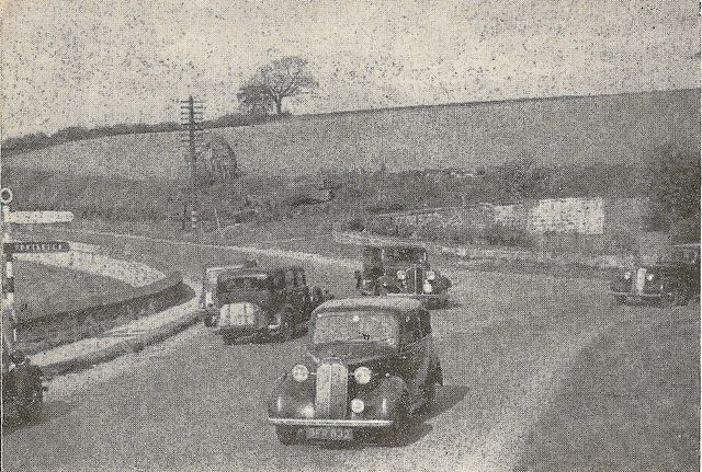 """""""How do you drive?"""" - West Yorkshire Police booklet, c1935 - Collingham, West Yorkshire - A58 and A659 junction"""