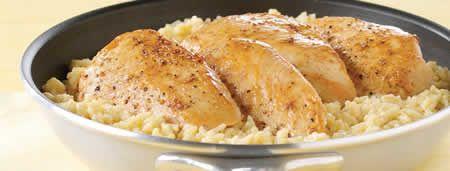escalope de poulet au riz au cookeo