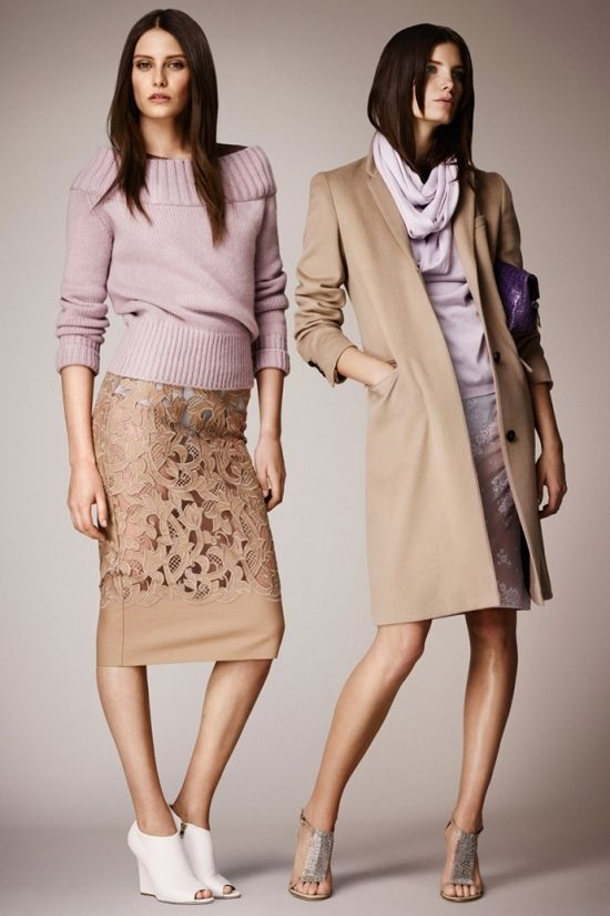 Лукбук Burberry Prorsum resort 2014