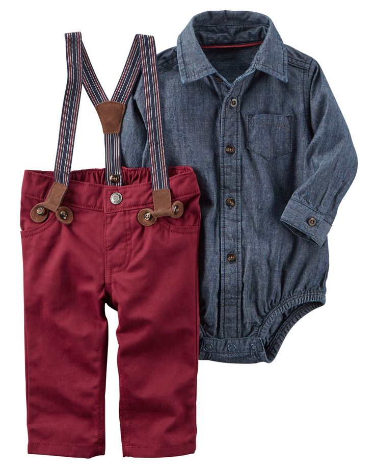 Baby Boy 3-Piece Dress Me Up Set | Carters.com