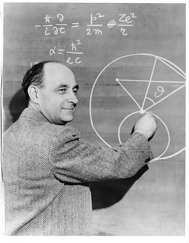 There is a major error in this famous photo of physicist Enrico Fermi