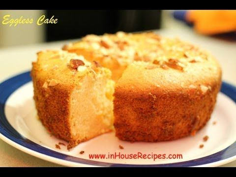 Eggless Cake In Oven Or Microwave Oven - Hindi With English Subtitles