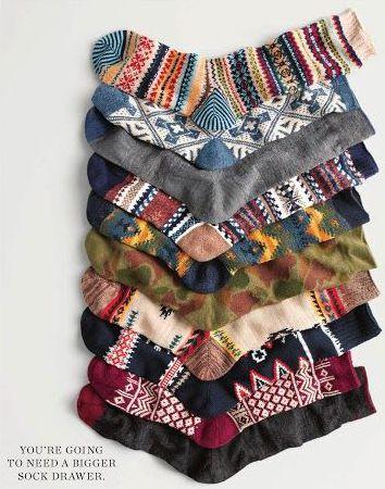 sock laydown