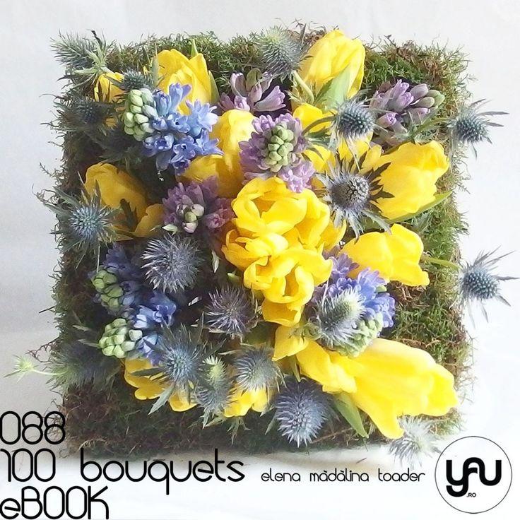 #100bouquetsBuchet cu muschi verde lalele si zambile  #ebook #yauconcept #elenamadalinatoader