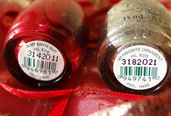 OPI Mariah Carey Christmas Collection 2013. OPI - In My Santa Suit HL E09. OPI - My Favorite Ornament HL E05 — Отзывы о косметике — Косметис...