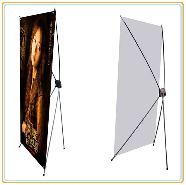 Ecomonic X Banner Stand (80*180cm) with Printed PVC Banner