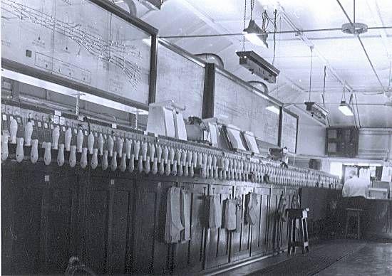 Interior of Sydney Station West