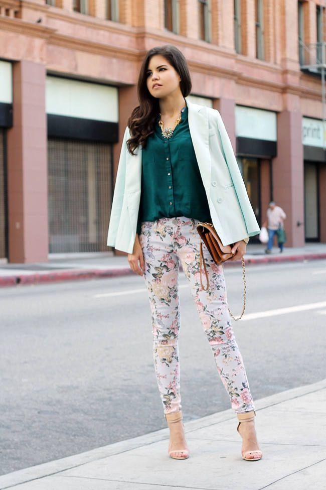 Bradbury  #Floral #Pants