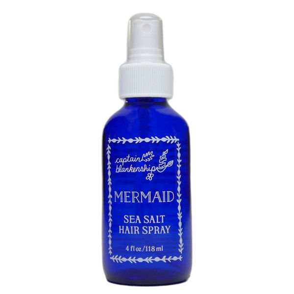 Mermaid Sea Salt Hair Spray – Captain Blankenship