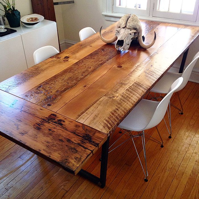 Old Growth Hemlock And Pine Dining Room Table