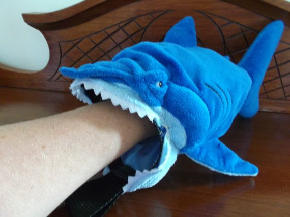 Shark Rock Climbing Chalk Bag Made From A Child 39 S Plush