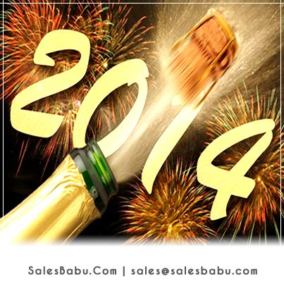 Lets #Praise ourselves for what we have done & Achieved in 2013 & welcome 2014 with new challenges & opportunities to Achieve More.... #Happy New Year!!!  http://www.salesbabu.com/