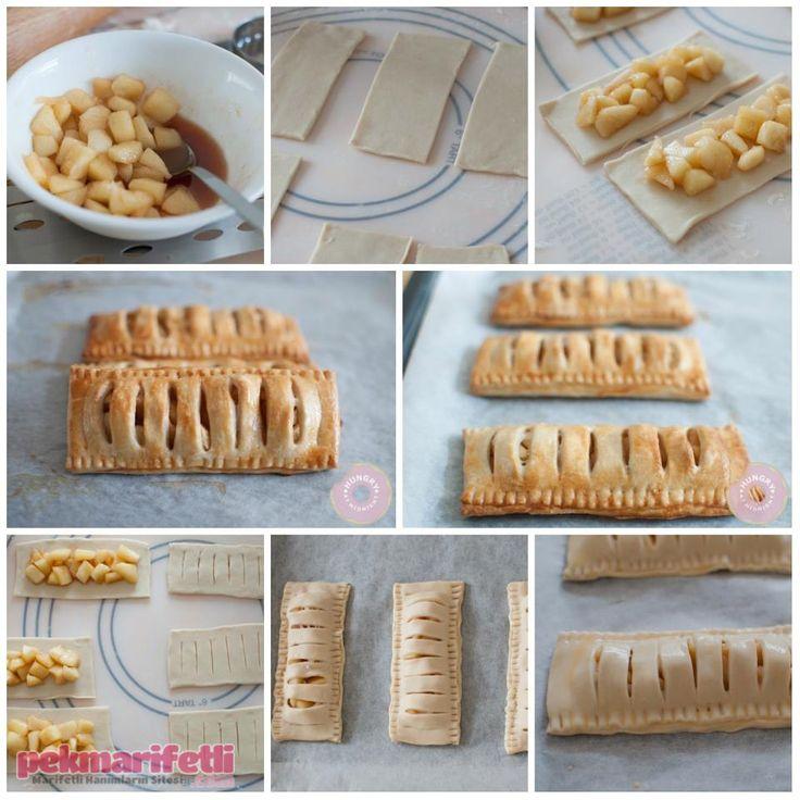 Milföylü elmalı turta yapımı | Mutfak | Pek Marifetli!