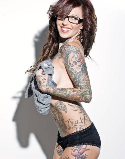 Hot Naked Tattoo Sluts 84