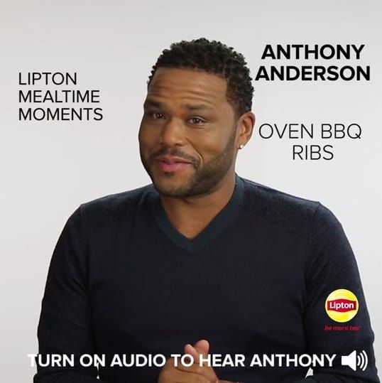 Anthony Anderson's Most Nostalgic Meal