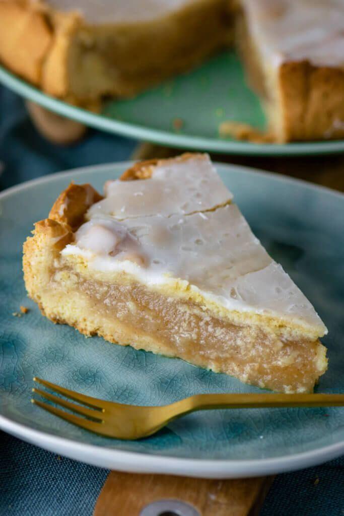 Apfelkuchen mit Zuckerguss   – Herbst-Rezepte