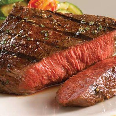 Mustard-Glazed Top Sirloin Steak Recipe