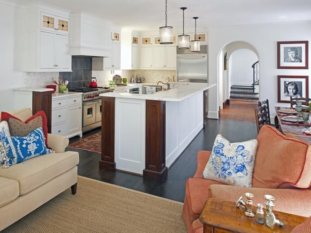 layout: Kitchens Design, Living Rooms, Kitchens Ideas, Open Layout, Kitchens Lights, Art Deco Home, Pendants Lights, Open Kitchens, Eclectic Kitchens