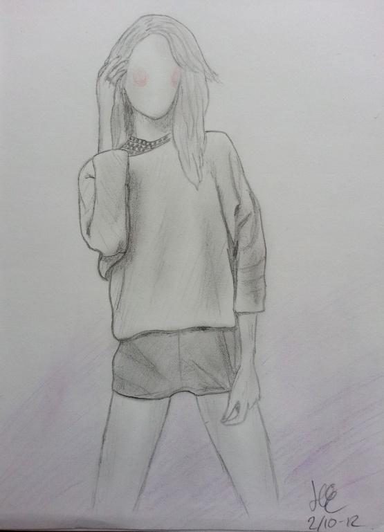 #fashion #drawing #sketch #art #girl
