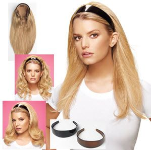 Probably one of the easiest hair extension: the headband. You don't have to braid or carefully comb your hair,  just slide and go! The 100% human hair headband extension is the perfect solution for a dinner, a summer festival or a night out. All you have to do is slide your hair to the back with the headband.     Jessica Simpson and Paris Hilton both launched their own headband extensions. Want to know how easy it is? Check out the video and see how you …
