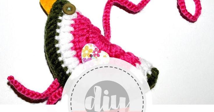 Cykliczne Szydełko #crochet #bird #ptak #szydełko