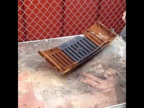 ПЕРВЫЙ В МИРЕ ЛАЗЕР ДЛЯ УДАЛЕНИЯ РЖАВЧИНЫ World's First Laser Rust Remover! - YouTube