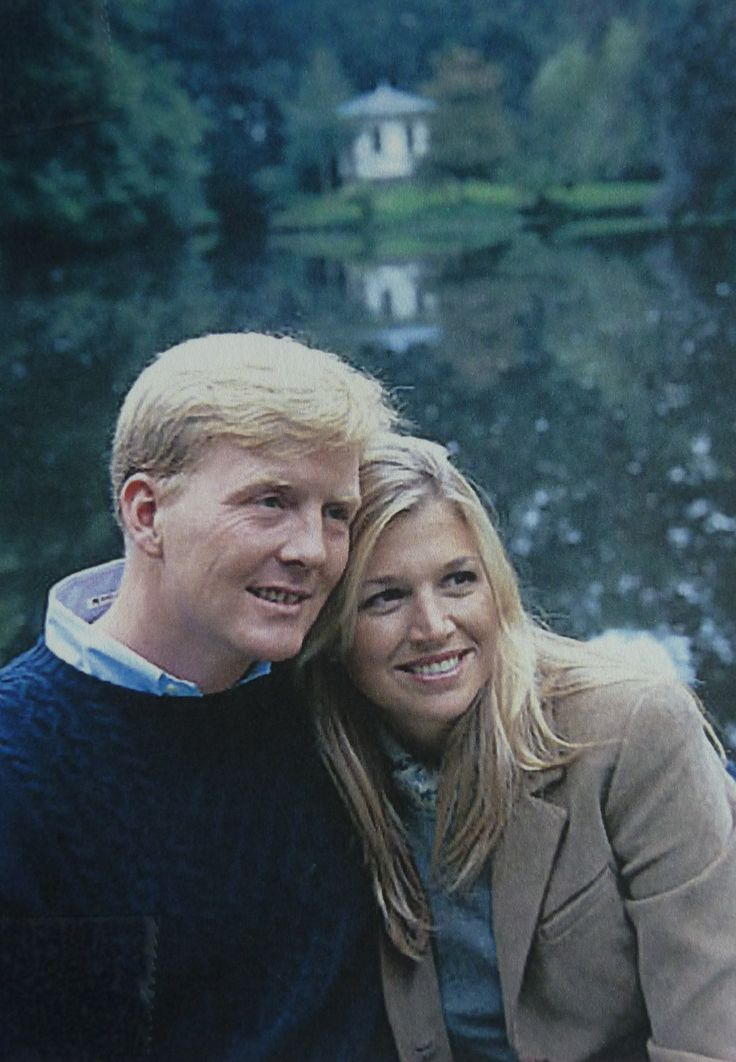 Prince Willem-Alexander The Prince of Orange and Princess Maxima