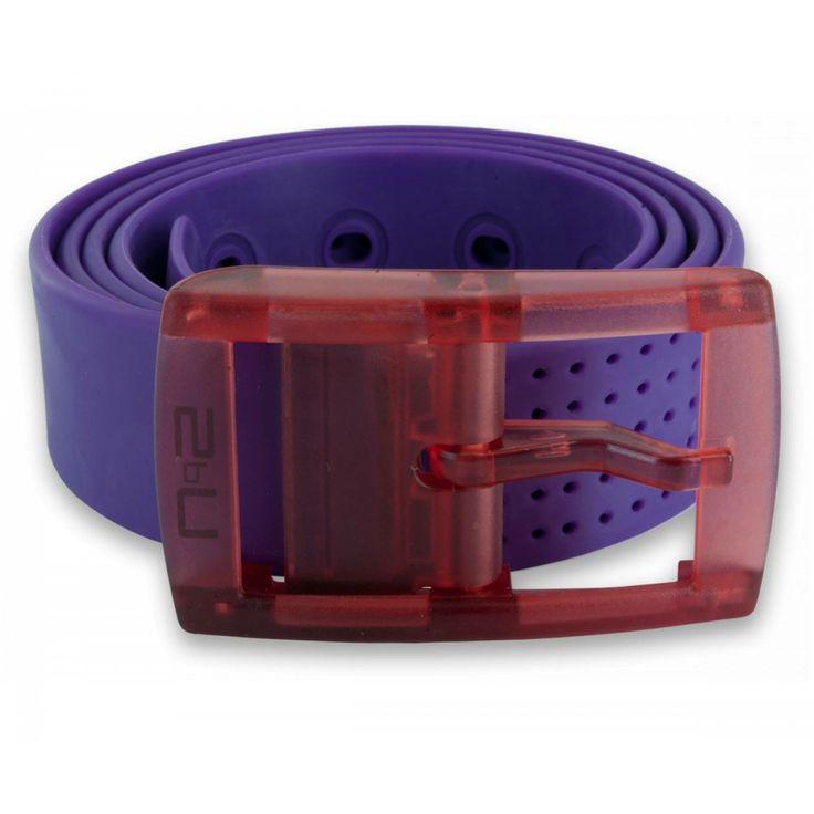 Ceinture silicone violet - 2bu