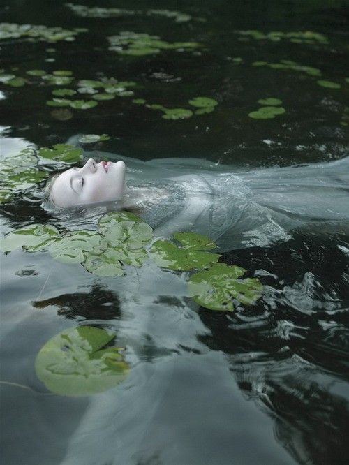 woman and water