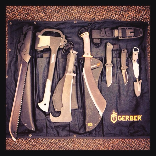 Gerber knives and tools :-)