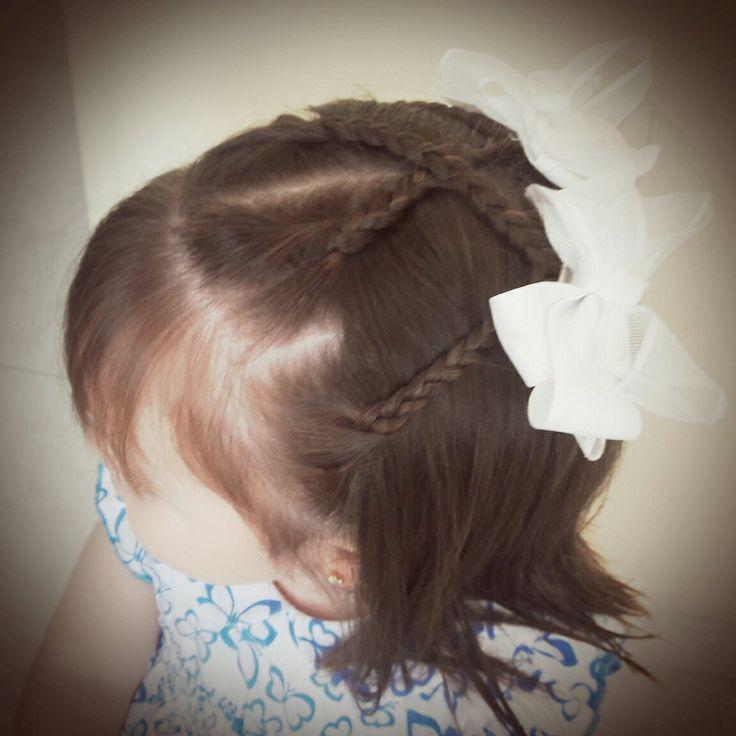 Sencillo y hermoso peinado para las princesas!