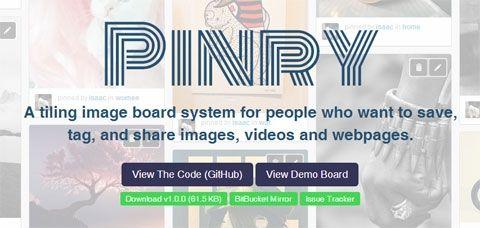 Pinry: open source веб-приложение для сайтов вроде Pinterest