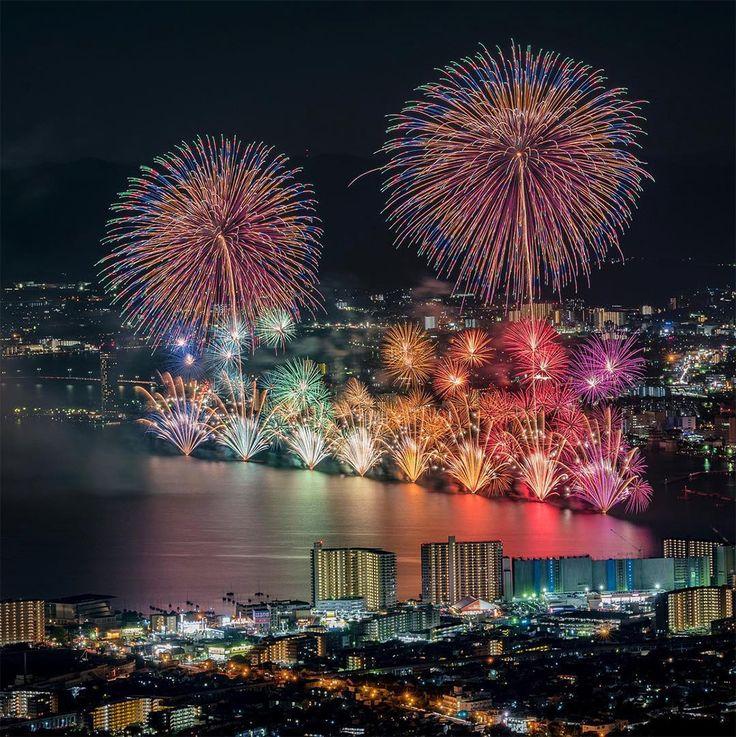 Breathtaking Fireworks Photography by Keisuke