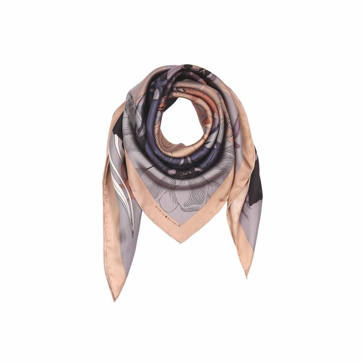 FW16 All the light silk scarf