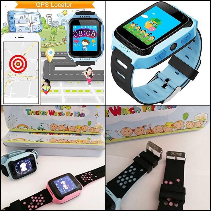 GPS Tracker Watch Phone Awesome Smartwatch Bracelet Christmas Gift for Kids New #Dxrise