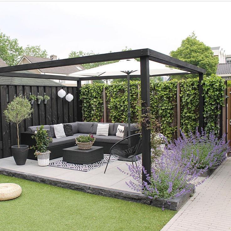 """Interior Design & Home Decor på Instagram: """"@_mirjam_72 's backyard is just about perfect for a morning cup of coffee!"""""""