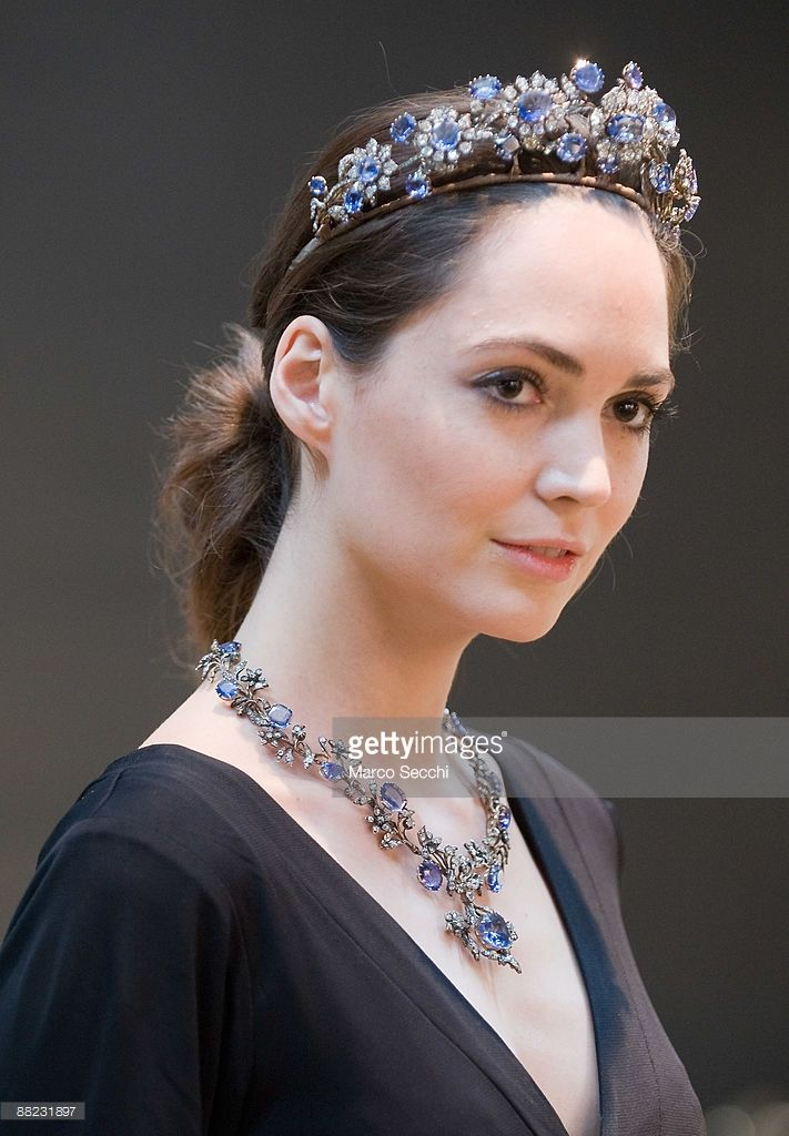 An antique sapphire and diamond tiara circa 1850 with an estimate... News Photo | Getty Images