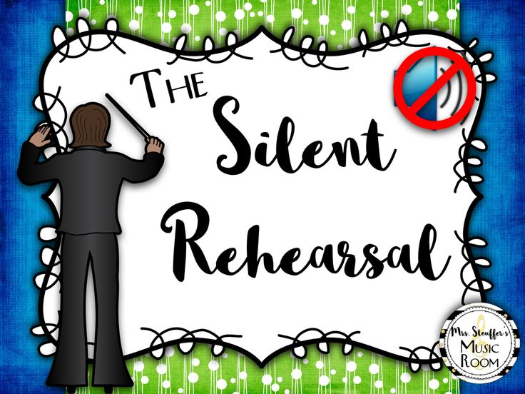 This blog entry describes how to have a silent band rehearsal to improve student engagement, listening skills, and awareness.