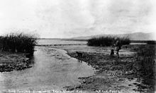 Duck hunting on the Ballona lowlands in what would become Marina del Rey, 1890.